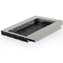 Enclosure Caddy Drive-Case Hard-Disk SSD 2nd-Hdd SATA To Aluminum IDE for Laptop DVD-ROM