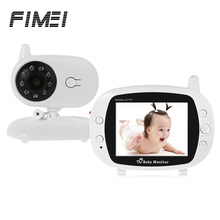 FIMEI 850 Wireless Digital Baby Monitor 3.5 inch LCD Screen 2 Way Speak Lullaby Baby Camera Night Vision WiFi Baby Sleep Monitor(China)