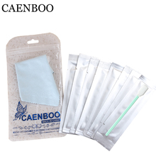 CAENBOO 4pcs Dry+4pcs Wet Cleaner Cleaning Kit General Square Bar CMOS CCD SWAB For Canon Niokn Filters lens Camera Sensor(China)