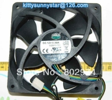 Cooler Master 12025 FA12025M12SPA 12V 0.36A 4Wire Case Fan,Cooling Fan(China)