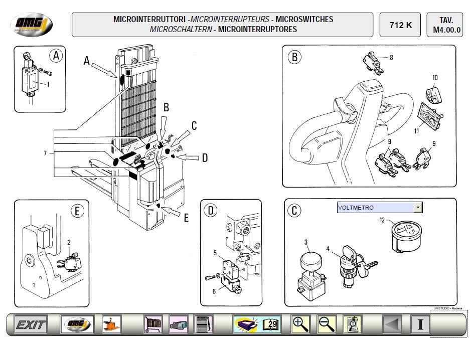 OMG Forklift Spare Parts Catalog<br><br>Aliexpress