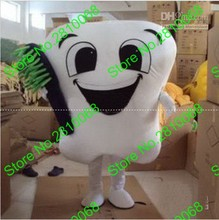 QIANYIDUOO Make EVA Material tooth Mascot Costume Cartoon Apparel Cosplay Dental health advertisements and publicity 635(China)