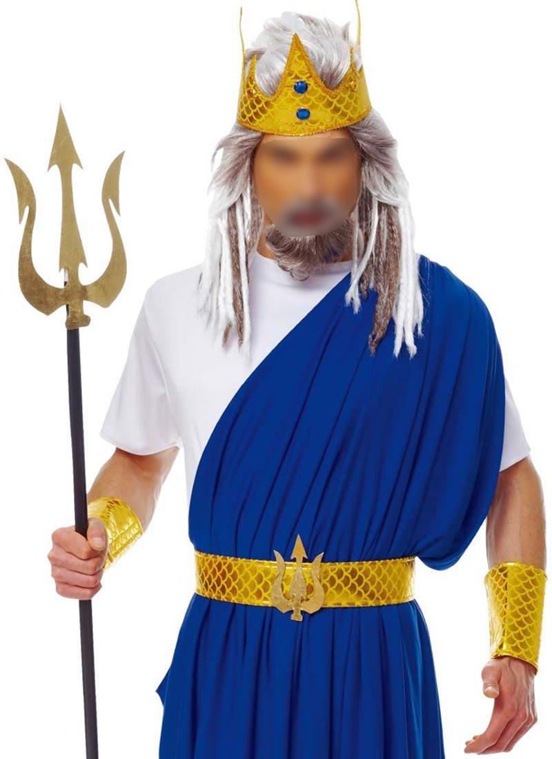 adult men king neptune poseidon roman greek god sea fancy dress zeus