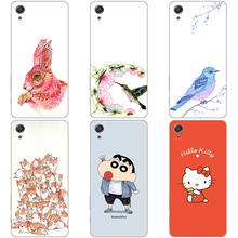 "Case For SONY Xperia X Performance XP 5.0"" Cat Dog flower animals design paint Phone Cases Hard Back Cover Mobile phone bag(China)"