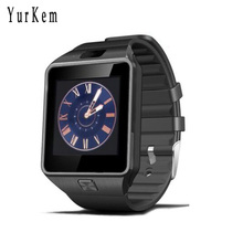 Yurkem Smart Watch DZ09 clock With Camera Bluetooth Connected SIM Card Smartwatch For Android Phone PK A1 GT08 dz 09 men watch(China)