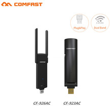 Free driver COMFAST 600M&1200Mbps 802.11ac usb wifi adapter 2.4G+5.8G wireless adaptor network card wifi receiver &WIFI emitter