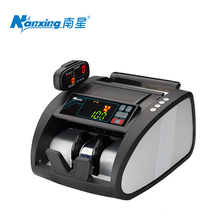 Money Counting Machine Bills Counterfeit Money Machine Detector LED Currency Banknote Fake Credit Card USD EUP Checkout NX-560B