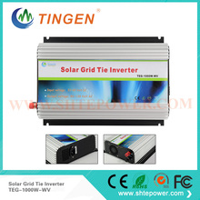 pure sine dc to ac 110v 220v solar grid tie inverter 1000 watt(China)