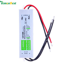 DC 12V 10W Waterproof IP67 Electronic LED Driver outdoor use power supply led strip transformers adapter for underwater light