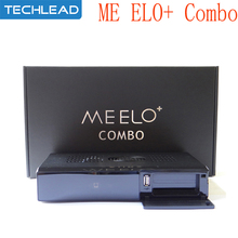 2pcs Meelo+ Combo Satellite TV Receiver 1200MHz Dual DMIPS Processor DVB-S2+DVB-T2/C X SOLO MINI 3 Network Media Player 1080P HD(China)
