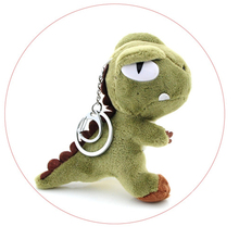 4 Colors keychain Pendant Plush Toy Gift Doll 1pc Super Kawaii Little 10CM Dinosaur Plush Toys Dragon Figure Plush Stuffed Toy(China)