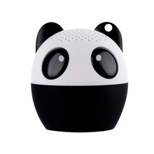 Caldecott Mini Animal Style Bluetooth Speaker Portable Cartoon Panda Outdoor Music MP3 Player Stero Sound Cute Dog Pink Color(China)
