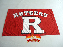 Rutgers University Scarlet Knights Large Flag 3FTX 5FT(China)