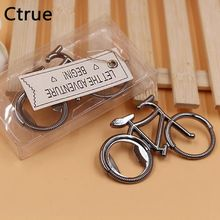 Ctrue 10pcs Bike Bicycle Metal Beer Bottle Opener Wedding Favors And Gifts Wedding Gifts For Guests Wedding Souvenirs(China)