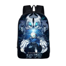 Anime Undertale Backpack for Teenage Girls Boys Book Bag Sans Women mochila Men Travel Bag Undertale Children School Backpacks