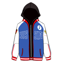 YURI on ICE Yuri Plisetsky False Two Pieces Hoodie Cosplay Costume Hooded Jacket Sportswear Daily Casual Sweatshirts Size S-XXXL(China)