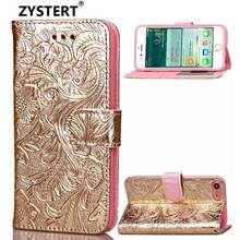"For IPhone 7 & 8 4.7"" Phone Case Pomegranate Blossom Knurling Leather Flip Cover Case For IPhone 7 & 8 4.7"" Phone Case Funda(China)"