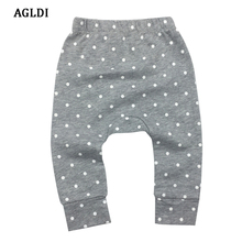 2018 Infantil Toddler Newborn Baby Boys Girls Baby Girls Pants Unisex Casual Bottom Harem Pants PP Pants Fox Trousers 0-24M(China)
