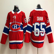 Mens Andrew Shaw Embroidered Throwback Hockey Jersey Size M-3XL(China)