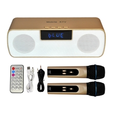 N-200 Mobile KTV Wireless Microphone Karaoke KTV Player Handheld Condenser with Bluetooth Speaker for iPhone iPad iPod(China)