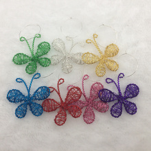 Butterfly Style Wedding Decoration Table Goblet Decor Champagne Wine Glass Charms Favors Cup Centerpieces Events Supplies