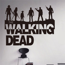 Wall Decal Sticker Sticker Vinyl The Walking Dead Collection 3 Banksy Wall Art Zombie Movie Wall Stickers Home Decor