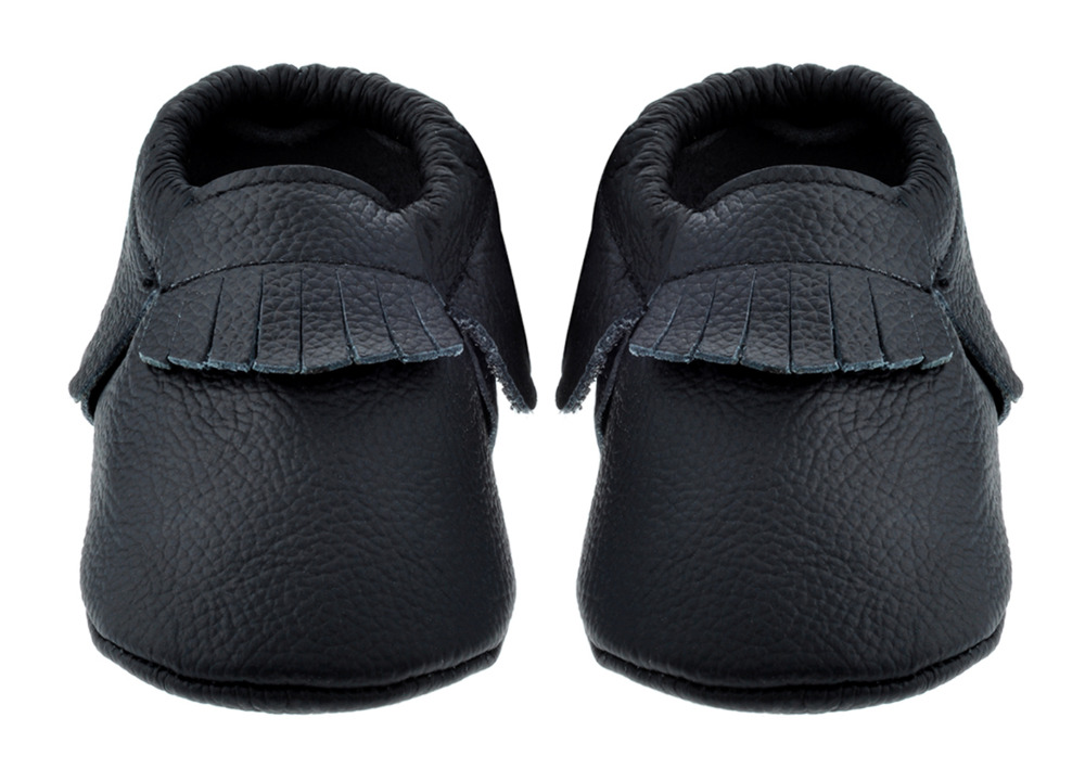 Sayoyo Branded  Baby Tassel Black Soft Soled Leather Moccasin Infatnt Toddler Newborn Prewalker Baby Girl Shoe Boy Free Shipping<br><br>Aliexpress