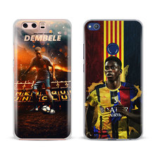 Ousmane Dembele 11 Logo Phone Case Cover Shell For Huawei P8 9 10 Lite 2017 Honor 6x 8 V8 V9 Mate 7 8 9 10 Pro Nova Plus 2(China)