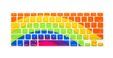 Multicolor Sunflower Style US Version Silicone Membrane Keyboard Cover For Macbook Air/Pro/Retina 13/15/17inch Protector Skin