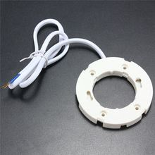 New Arrival GX53 Base Surface Fitting Holder Connector Socket White For LED Light Lamp Bulb CFLs AC220-240V 50/60Hz