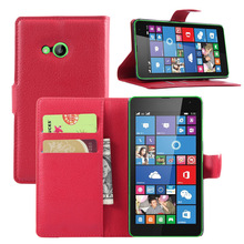 Luxury Wallet Style PU Leather Case for Microsoft Lumia 535 with Card Holders Smart Stand Soft Cover case for Lumia 535
