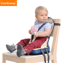 Baby Feeding Chair Booster Seat Highchair for Toddlers Dining Baby Chair Booster Fold-up Seat Cushion Bag Infant Eating Chair(China)