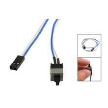 "5 psc/lot 20.5"" Long Power Button Switch Cable for PC Switches Reset Computer"