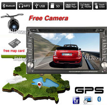 2 DIN Car DVD / GPS/ CD / MP3 / mp5 / usb / sd / player Bluetooth Handsfree Rearview after Touch screen hd system(China)