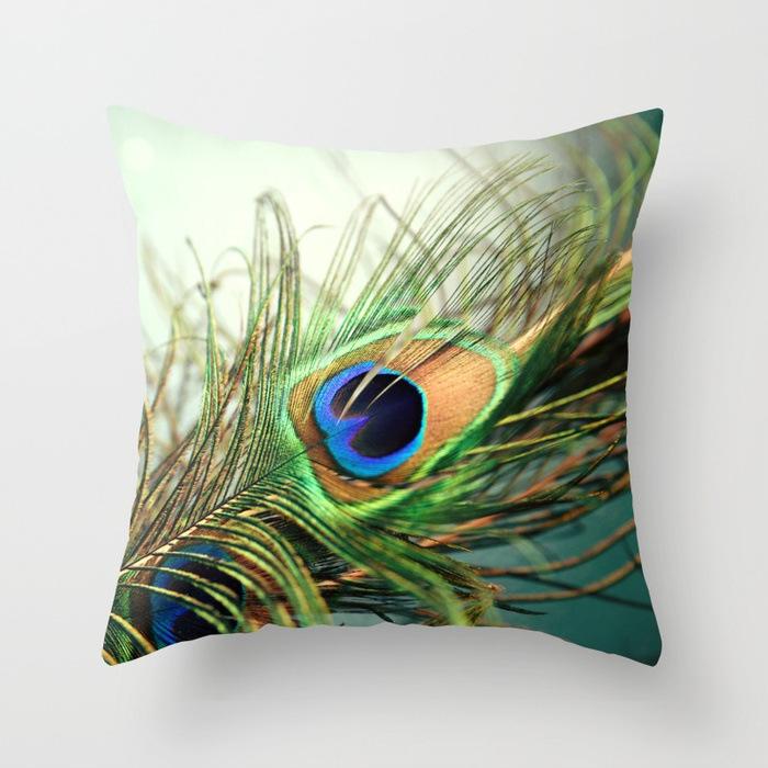 peacock-feather-teal-pillows