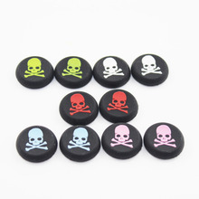 Wholesale 100 pcs Analog Sticks Cap Cover Thumb Stick Skull Grip for PS4 PS3 For XBOX One 360 Game Controller