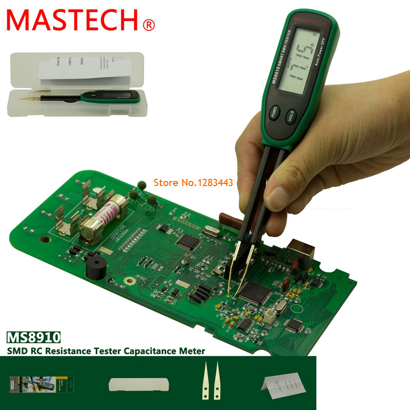MASTECH MS8910 Digital Multimeter 3000 counts Smart SMD RC Resistance Capacitance Diode Meter Tester Auto Scan<br><br>Aliexpress
