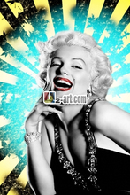 Beautiful decor artwork Canvas prints marylin monroe home crafts wall decoration design painting printed Dd-6-RW(255)