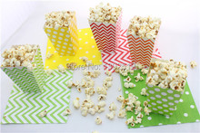 Wholesale 1920pcs Wedding Favors and Gifts  Box Paper Pop corn Boxes Goodie Box  set of 12pcs YOU PICK COLROS free shipping