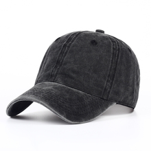 VORON Plain dyed sand washed 100% soft cotton cap blank baseball caps dad hat no embroidery mens cap hat for men and women(China)