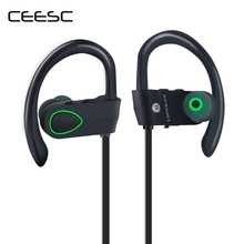 Buy CEESC bluetooth headphones IPX4 Waterproof Wireless Headphone Sports Bass Bluetooth Earphone Mic Phone IPhone Xiaomi for $51.57 in AliExpress store