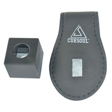Free Shipping Cuesoul Magnet Billiard Snooker Pool Cue 13mm Chalk Holder(China)