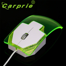 2017 New 1600 DPI Optical USB LED Wired Game Mouse Mice For PC Laptop Computer Beautiful Gift Wholesale Price_KXL0422