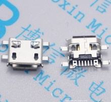 10Pcs Micro USB 5Pin B Type Female Connector For Mobile Phone Micro USB Jack Connector 5 pin Charging Socket Sell At A Loss