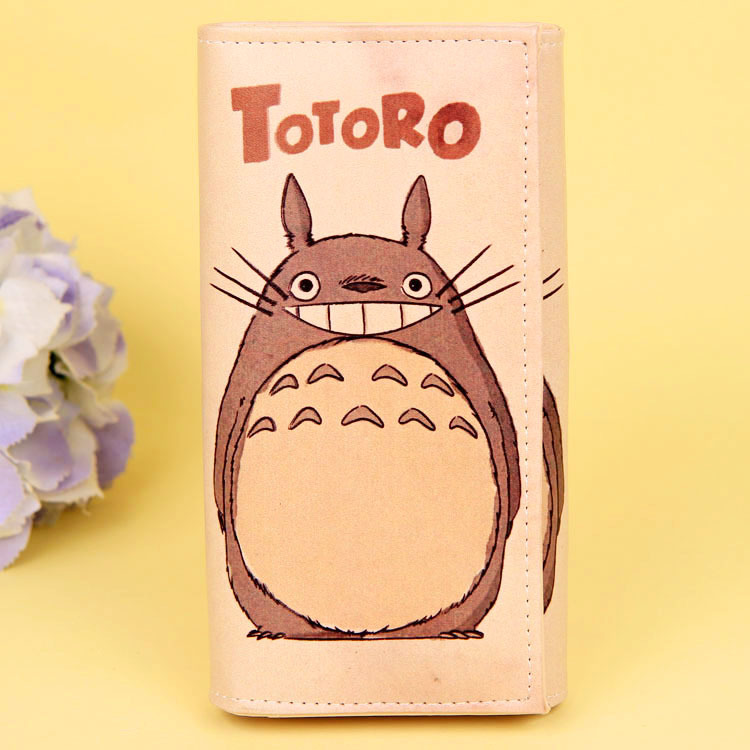 Cartoon My Neighbor Totoro Women Wallets PU Leather Students Wallet Cards Holder Women's Clutch Hasp Coin Purse Money Bags 18