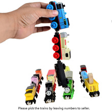 5pcs/lot BOHS Wooden Magnetic Thomas Circus Train Donald Lady Gordon and Friends Lorry Track Railway Vehicles Diecast Toy(China)