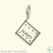 The Cookies Charm Thomas Style  Good Jewelry In silver plated Fit Bag Bracelet