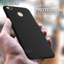 OICGOO Soft Matte Silicone Full Cover Case For Red Xiaomi Redmi Note 4 4X Pro Back Cover Case For Xiaomi Redmi 4 4X Phone Cases