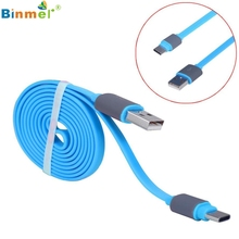 Binmer 2017 New Arrival USB 3.1 Type C Micro USB Combo Male Data Charging Cable for Oneplus 3 Three JU5