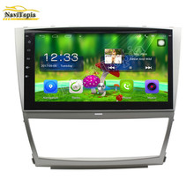 NAVITOPIA 10.1inch Quad Core Android 6.0 Car Stereo Radio For Toyota Camry (2006-2011) Car PC Audio Mirror Link With GPS Navi(China)